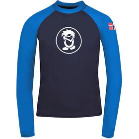 TROLLKIDS Kvalvika Skjorte Børn, blå